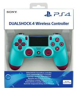 CONTROLLER SONY WIRELESS PS4 DUALSHOCK 4 PAD BERRY BLUE PLAYSTATION 4 V2 JOYSTIC