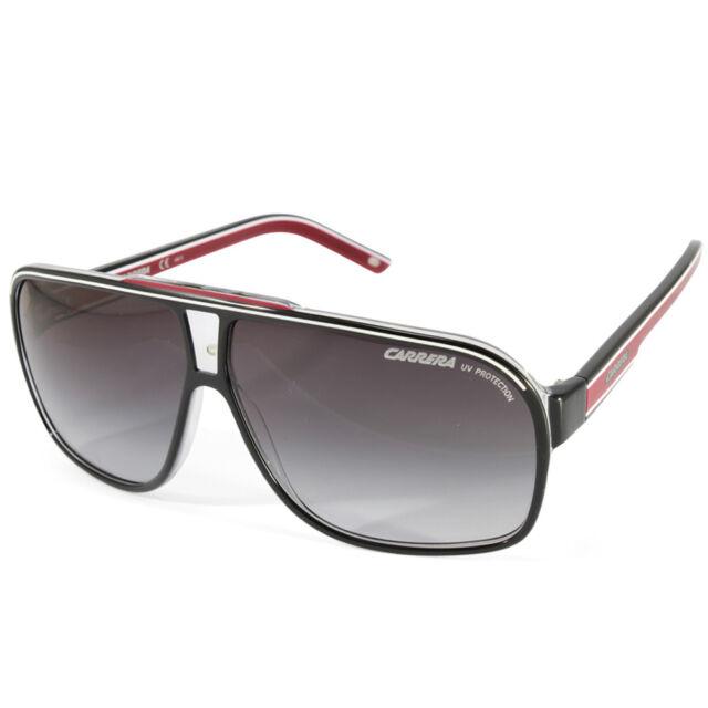 Carrera Grand Prix 2 T4O 9O Polished Black on Clear Grey Gradient Sunglasses 1115f4193781