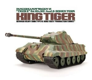 1 16 King Tiger Ii Porsche Turret Rc Tank Smoke Sound Remote