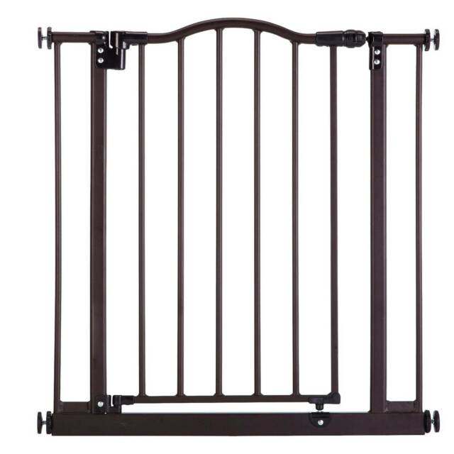 "38.25/"" wide and is North States Pet Windsor Arch Gate fits openings 28.25/"""
