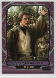 Star Wars Galactic Files 2 Blue Parallel Base Card #358 Luke Skywalker