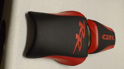 HONDA CBR954RR FRONT /&REAR BLACK//RED 2002//03 CUSTOM SEAT COVERS