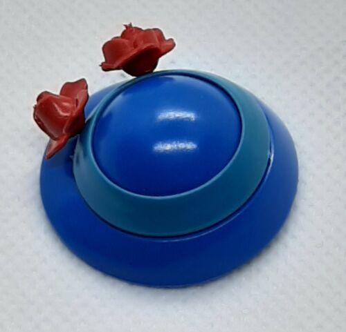 210122 Sombrero años 20 mujer azul con flores 1u playmobil,hat,lady,victorian