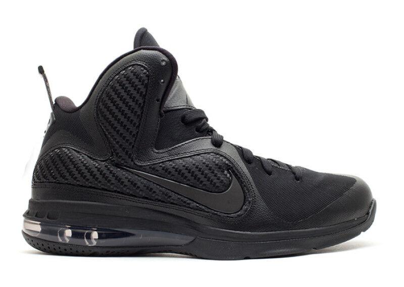 Nike LeBron 9 IX Blackout Cavs Anthracite Size 10.5. 469764-001 Cavs Blackout Finals Kyrie 5bf512