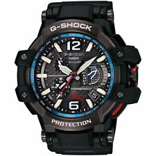 Casio Men's G-Shock GPW1000-1A Black Resin Quartz Watch