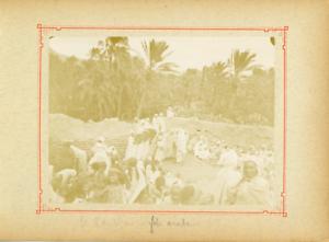 Algerie-El-Kantara-Fete-arabe-Vintage-citrate-print-Tirage-citr
