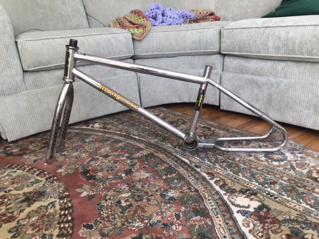 1984 Mongoose Californian Expert Frame & Fork Looptail Survivor Old School BMX