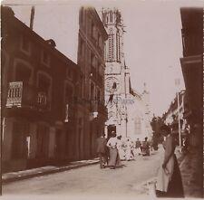 Plombières-les-Bains Vosges Photo Amateur Vintage citrate ca 1900