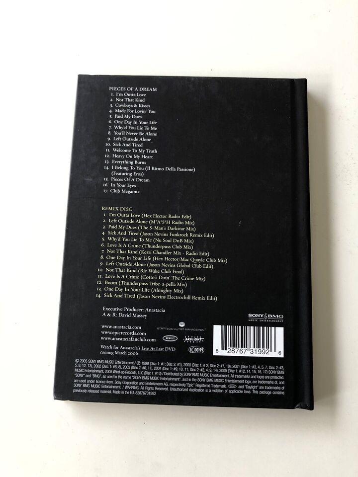 Anastacia: Pieces of a dream, pop