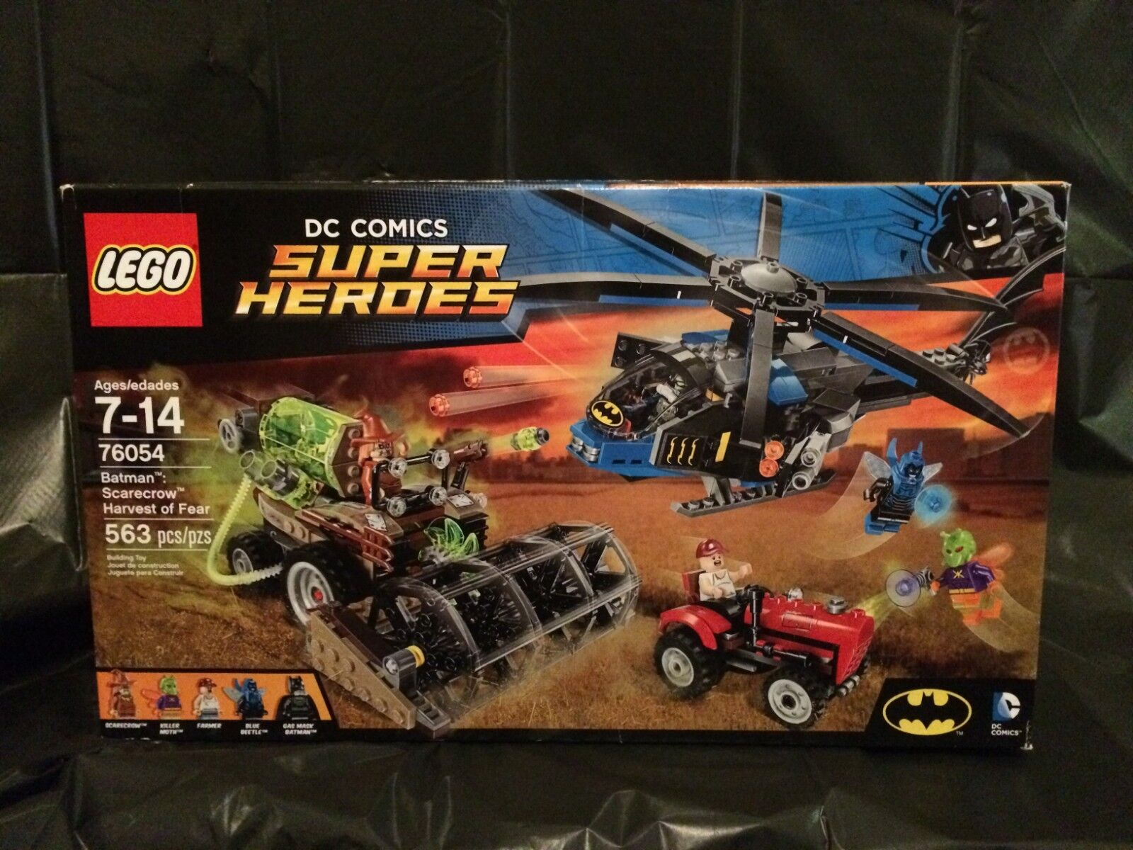 LEGO Super Heroes 76054 Batman Scarecrow Harvest of Fear Brand New  Sealed  Nice
