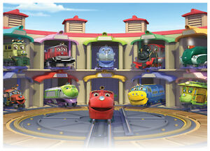 Chuggington Cake Topper Edible Image Icing Sheets eBay