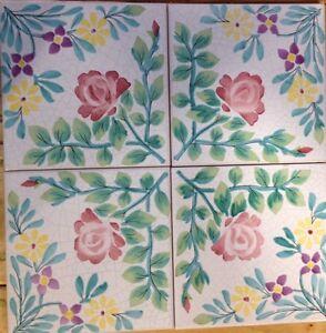 Vietri piastrelle 20x20 decorate a mano riproduzione for Piastrelle antiche
