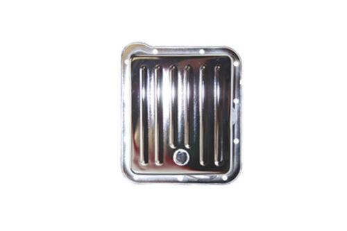 Ford Transmission Pan Chrome Steel Stock Depth c4 c 4 c-4 Drain Plug Mustang