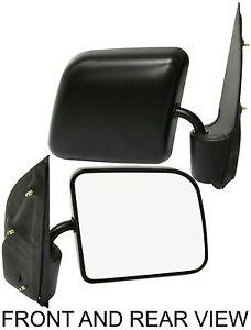 New-Depo-Left-Manual-Mirror-For-E-150-E-250-E-350-Econoline-E-150-Econoline