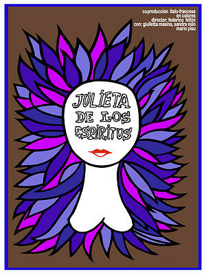 2554.Decoration Poster.Julieta de los Espiritus.Spanish Fellini movie.Home wall