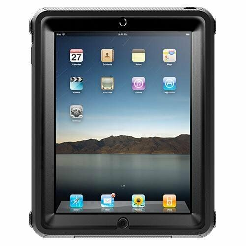 low priced 78eab 1689b OTTERBOX Defender Series Case Cover for Original iPad 1st First Generation  Black