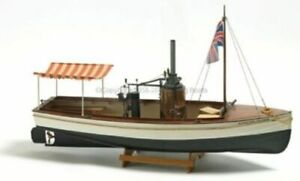 Billing-Boats-B-588-039-African-Queen-039-1-12-Scale-Model-Steam-Boat-Kit-New-Sealed