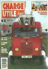 CHARGE UTILE N°08 RENAULT 2.5 T PORTE ECHELLES / AUTOCARS CURRUS / MACK 6 X 6 NM