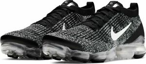 official photos 5f20f 3ce2a Details about Nike Air Vapormax Flyknit 3 2019 Black/White Oreo 3.0 Mens  Max Running All NEW