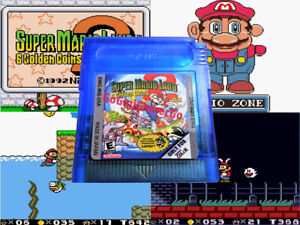Super-Mario-Land-2-DX-v1-81-Cartridge-FULL-COLOR-Nintendo-Game-Boy-GBC-Deluxe