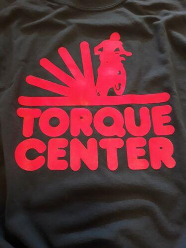 Torque Center Tshirt Size X-Large Indigo Blue Old School BMX Motocross