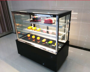 Image Is Loading 220v Gl Countertop Refrigerated Cake Pie Showcase Bakery