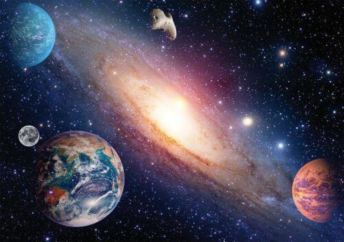 Papermoon Fototapete Solar System matt Vlies 250 x 180 cm 5 Bahnen