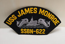 2 US NAVY USS ANDREW JACKSON SSBN 619 PATCHES SHIP BOAT PATCH