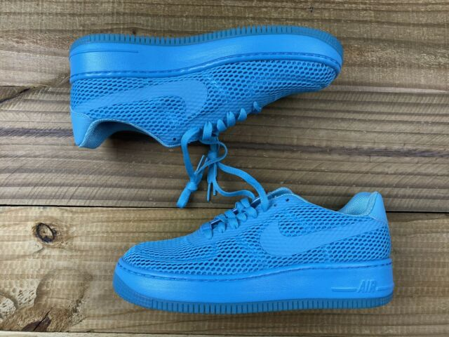 NEW Nike Air Force 1 Low Upstep BR Shoes Women's Sz 9 Gamma Blue 833123 400