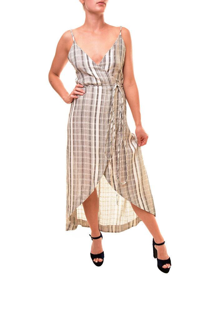 One Teaspoon Woherren Sleeveless Midi Dress Multi Größe S RRP  BCF86