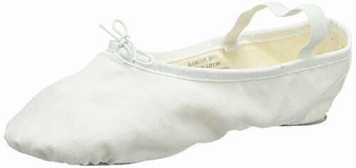 So Danca Noir et Blanc SPLIT Semelle Toile Ballet Chaussures Enfants /& Adultes BAE23
