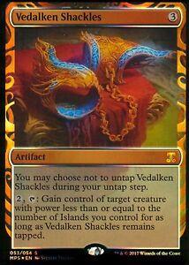 Vedalken-Shackles-FOIL-Presque-comme-neuf-M-kaladesh-Erne-magic-mtg