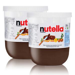 3x-Ferrero-Nutella-Glas-Brotaufstrich-Schokolade-220g-Fruehstueck-Sammelglas-suess