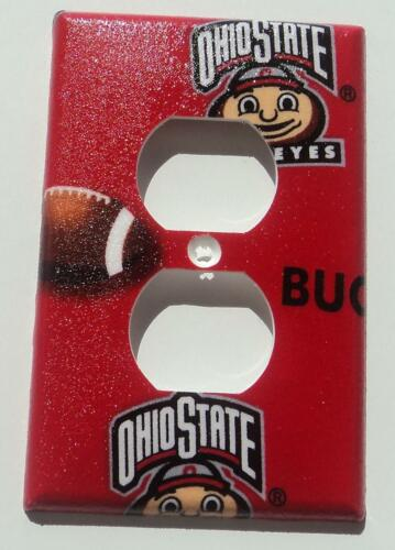 Ohio State Buckeyes Outlet Plate Cover Bedroom Bathroom Wall Decor