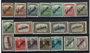 Hungary-19-Mint-Stamps-some-faults-C536