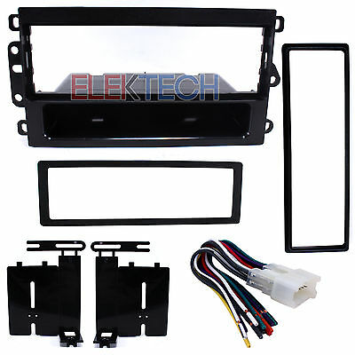 Radio Replacement Dash Mount Kit 1 /& 2-DIN w//Pocket//Amp Harness for Lexus IS300