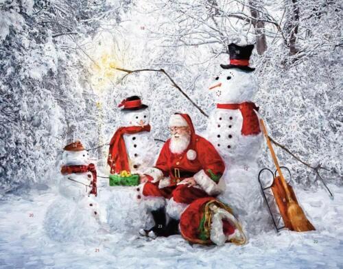 Snowy Friends Advent Calendar (Countdown to Christmas)