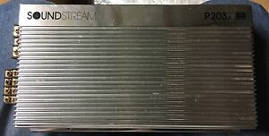 Old-School-Soundstream-P203e-3-Channel-Amplifier-Rare-Vintage-USA