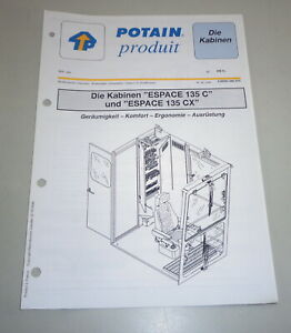 Product Data Sheet Potain Cabins Espace 135 C +135 Cx