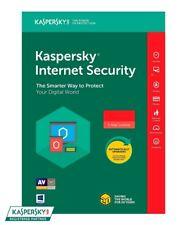 North America Region 18-Month Kaspersky Internet Security 2019-3 PC CD