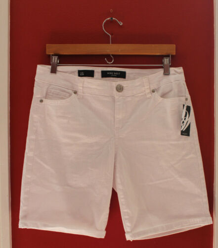 50 29 Bianco la Bermuda Shorts Stretch West Pedera Nwt 609715196390 Jeans Cotton Nine 8 tqz8R8