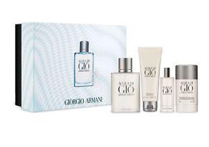 062144488931 Giorgio Armani Acqua Di Gio 4 Pc. Gift Set Eau De Toilette + Deo + ...
