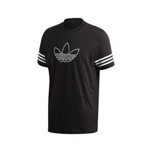 Details about adidas Originals Outline Men's T-Shirt Black FM3897