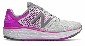 New Balance Women's Fresh Foam Vongo V3 Shoes Grey With Purple