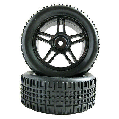 4x RC Pull Rally Car 1:10 On Road 1:16 Off-Road Wheel Rim Tyre Tire 905B-7004A