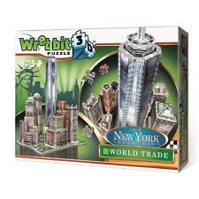 WREBBIT 3D PUZZLE NEW YORK COLLECTION WORLD TRADE CENTER 875 PCS  #W3D-2012