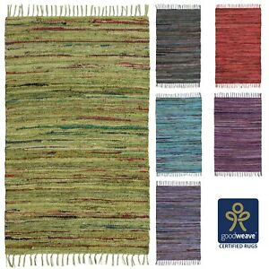 Commerce-Equitable-60x90-75x120-Cotton-Chindi-Rag-Rugs-vert-gris-mauve-violet-rose-bleu