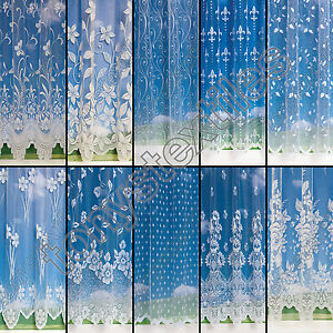 SELECTION-OF-TOP-QUALITY-GREAT-VALUE-NET-CURTAINS-SOLD-BYTHE-METRE-CHEAP-P-P-NEW