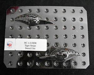 Custom-Lucky-Cast-Stencil-Clear-PETG-RC-1-5-DDR-Tiger-Stripe