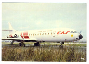 EAS-EUROPE-AERO-Service-Caravelle-V1-Postcard